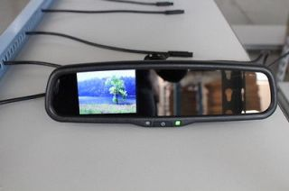 ford rear view camera mirror