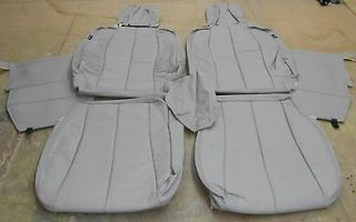 2006 07 Hyundai Sonata New Shale Premium Leather Seat Upholstery kit