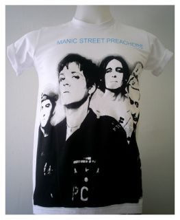 Alternative rock band The Manics PUNK Manic Street Preachers T Shirt S