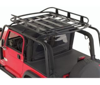 Smittybilt 17185 Jeep Wrangler Rugged Rack Roof Basket   50inX70in