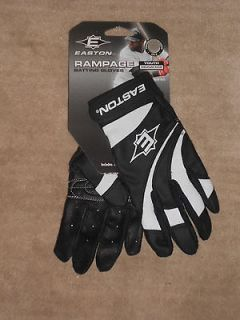 NEW, EASTON RAMPAGE BATTING GLOVES, YOUTH MEDIUM