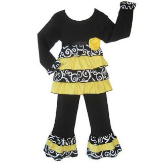 Baby Girls 2/3T Bumble Bee Rumba Kids Clothing Clothes