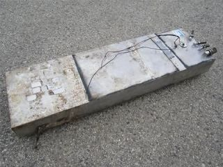 Used 55 Gallon Gas Tank Aluminum Marine Boat Fuel Tank