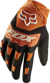 Fox Racing Adult Dirtpaw Gloves Orange Motocross MX Atv Bmx Off Road