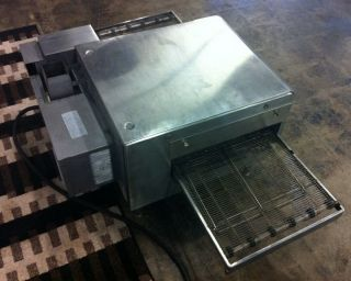 Lincoln Electric Baking Pizza Oven Extended Conveyor Model 1302 TESTED