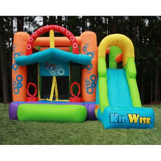 Double Shot Bounce House with Slide Inflatable Bouncer NEW