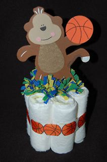 Mini Diaper Cake TEAM SPORTS/JUNGLE SAFARI Baby Shower/Nursery