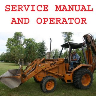 CASE 580 D 580D 580CK Tractors Backhoe Loader Operators Shop Service