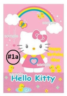 hello kitty cake in Holidays, Cards & Party Supply