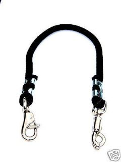 HORSE TRAILER TIE 32 DERBY ROPE BLACK NEW HORSE TACK