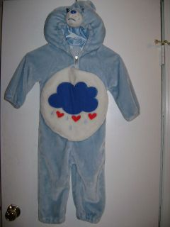Care Bears Grumpy Bear Dress Up Costume ~Size 2 4~