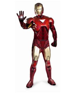 Mens Collectors Edition Iron Man 2 Mark VI Costume