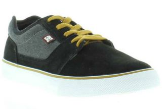 DC Skate Shoes Genuine Anvil Black Gum Mens Skate Shoes Sizes UK 8