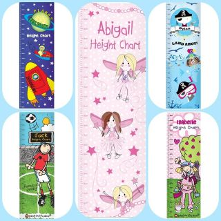 CHILDRENS BOYS GIRLS HEIGHT CHART Unusual Birthday Christmas Gift