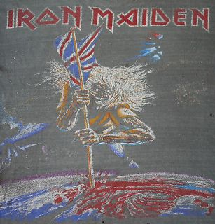 IRON MAIDEN 2010 Concert Tour T Shirt (L) final frontier alice cooper