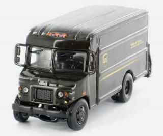 UPS DELIVERY P80 BUBBLE NOSE TRUCK 1/87 HO SCALE DIECAST MODEL BY