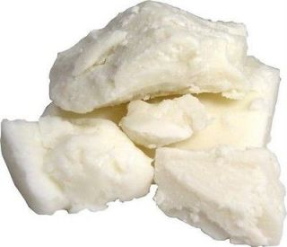 White Pure Organic Unrefined Raw Authentic Shea Butter 8 oz 1/2 lb