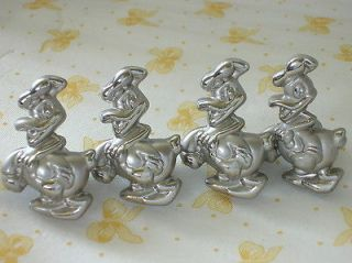 pcs Cute Donald Duck Door knobs Drawer Kitchen Cabinet Handles