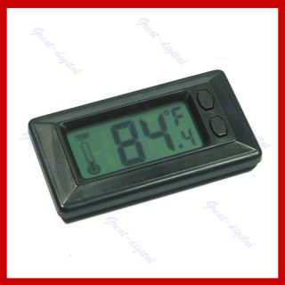 New LCD Digital Wall Car Indoor Temperature Thermometer