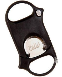 Cigar Cutter Black with Leather Sheath + Free Lotus Impact Lighter