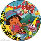 Dora Mermaid edible cake image birthday party topper