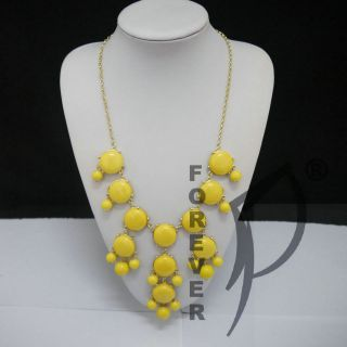 yellow bubble necklace in Necklaces & Pendants