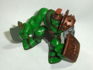 Marvel Super Hero Squad Planet Hulk 2008 Hasbro Toy PVC Figure Armor