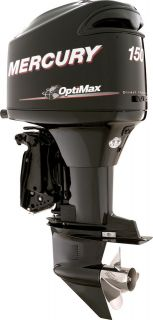 Mercury 150HP OptiMax Outboard Boat Motor DEMO UNIT CPO Less Than 1