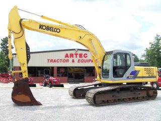SK250 LC EXCAVATOR   LOADER  BACKHOE   AUX HYDRAULICS   WATCH VIDEO