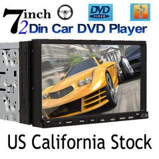LCD Touch Screen Car Stereo DVD CD VCD  Player Road Meida Radio