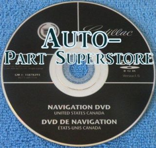 2008 cadillac escalade navigation disc in Car Electronics