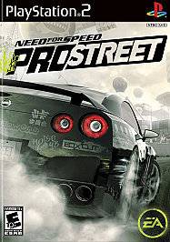 Need for Speed ProStreet (Sony PlayStation 2, 2007) With Booklet