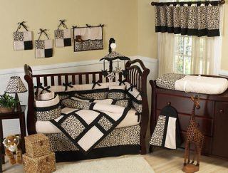 animal print baby bedding in Bedding Sets