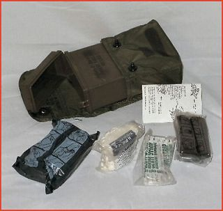 First Aid Kit US Army Military Surplus ALICE LC 1 pouch with contents
