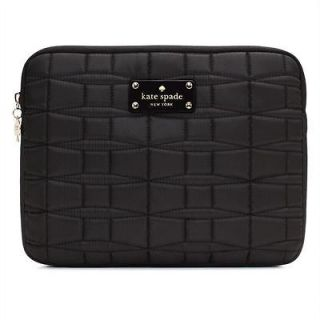 NWT Kate Spade iPad 1 2 3 Sleeve Case Signature Spade Quilted Nylon