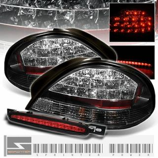 PERFORM TAIL LIGHTS w/FULL LED 3RD BRAKE LAMP (Fits Pontiac Grand Am