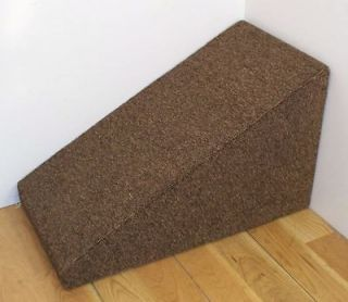 16 tall x 14 wide wooden Dog ramp, Pet steps. Carpeted. USA made