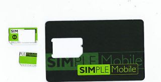 Simple Mobile prepaid gsm micro sim card Unlimited
