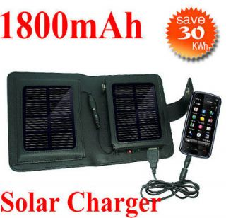 USB SOLAR Power Portable BATTERY CHARGER For iPhone 5 Samsung Galaxy