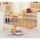 North States Plastic Expandable Pressure Baby Pet Gate