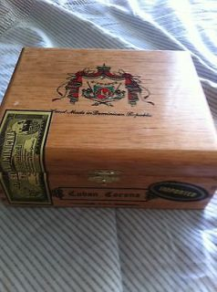 Arturo Fuente Cuban Corona Wooden Cigar Box