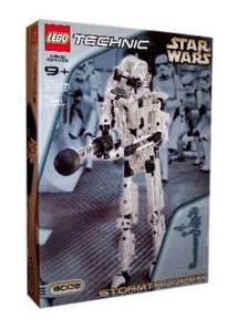 Lego Star Wars Technic Stormtrooper 8008