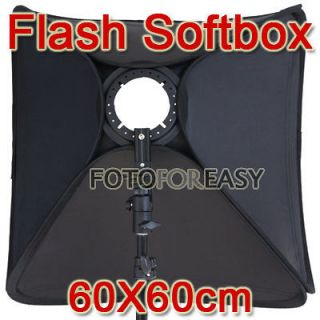 Softbox For SpeedLight Flash 60cm / 24 Flash Speedlite Soft box