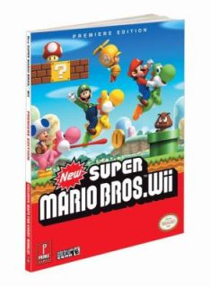 New Super Mario Bros Wii Prima Official Game Guide by Prima Games
