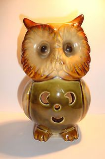 Beautiful Olly Owl Ceramic Tealight Candle Holder~A~uk seller