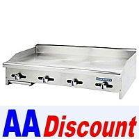 GAS TURBO AIR RADIANCE 48 GRIDDLE FLAT GRILL TAMG 48