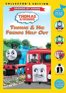 Thomas Friends   Thomas His Friends Help Out DVD, 2008, Collectors