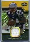 2011 Triple Threads Stevan Ridley Player Worn Jersey Card 8/9