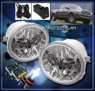 01 07 TOYOTA SEQUOIA/00+ TUNDRA BUMPER DRIVING FOG LIGHTS LAMPS+8000K