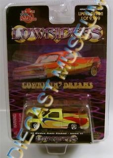 96 DODGE RAM PICKUP TRUCK LOWRIDERS CUSTOM CRUISERS RC DIECAST RARE